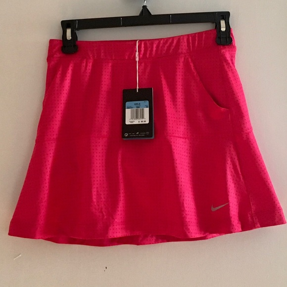Nike Dresses & Skirts - Hot Pink Nike Golf Dri-Fit Skirt